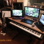 Film Composer Adam Spade - Recording Studio